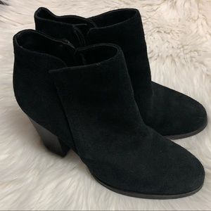 Guess Black Suede Booties - Size 8.5